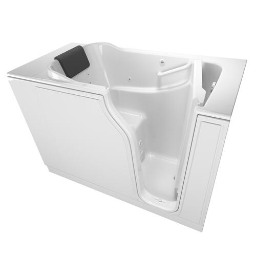 Gelcoat Premium Series 30x52-inch Walk-In Bathtub with Whirlpool Massage System  American Standard - White
