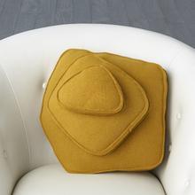 See Details - Rock Pillow-Camel-Pebble Shape
