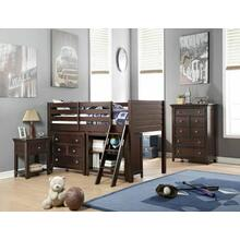 ACME Lacey Loft Bed (Twin) - 37660 - Espresso