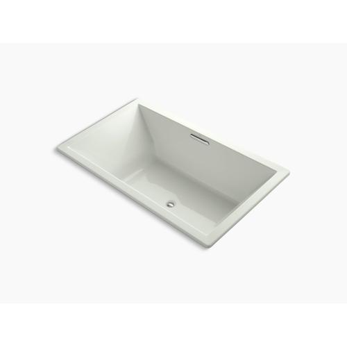 "Dune 72"" X 42"" Drop-in Vibracoustic Bath With Bask Heated Surface and Center Drain"