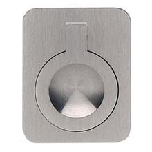 Rectangular Drop Ring in US15 (Satin Nickel Plated, Lacquered)