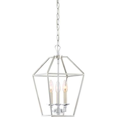 Aviary Pendant in Polished Nickel