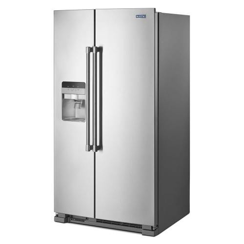 Gallery - 36-Inch Wide Side-by-Side Refrigerator with Exterior Ice and Water Dispenser - 25 Cu. Ft.