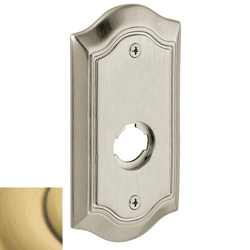 Baldwin - Satin Brass and Brown R028 Bethpage Rose