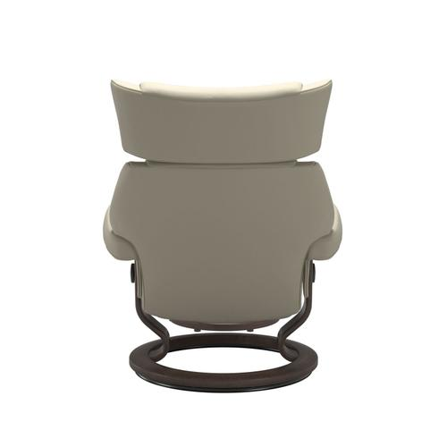 Stressless By Ekornes - Stressless® Skyline (M) Classic chair with footstool