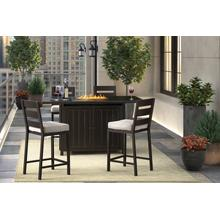 Perrymount 3 Piece Patio Set Brown
