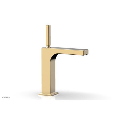MIX Single Hole Lavatory Faucet, Blade Handle 290-06 - Satin Brass