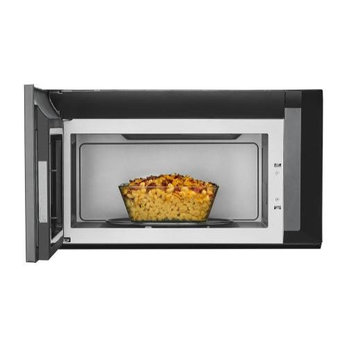 Whirlpool - 2.1 cu. ft. Over-the-Range Microwave with Steam cooking