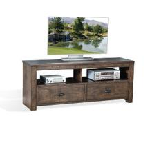 "Homestead 64"" TV Console w/ 2 Drawers"