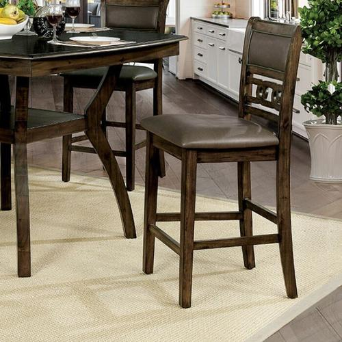 Furniture of America - Flick Counter Ht. Side Chair (2/ctn)