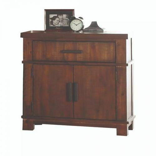 ACME Vibia Nightstand - 27163 - Cherry Oak