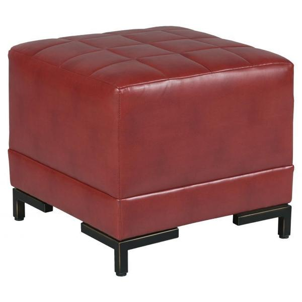 See Details - Box Quilted Square Ottoman