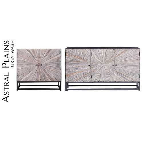 Astral Plains Reclaimed 2 Door Accent Cabinet