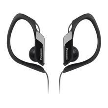 Water-Resistant Sports Clip Earbud Headphones RP-HS34-K - Black