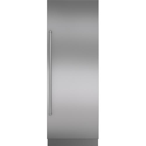 "Sub-Zero - Stainless Steel Door Panel with Pro Handle and 6"" Toe Kick - RH"