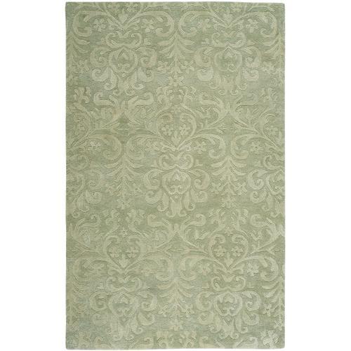 Filigree Burwell Green Hand Tufted Rugs
