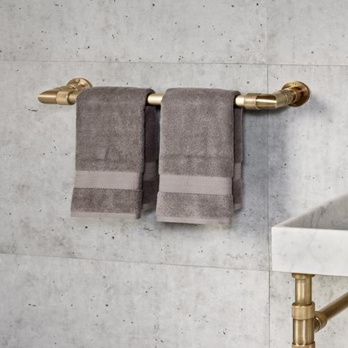 Stone Forest - Elemental Accessories Towel Bar / Aged Brass Unlaquered