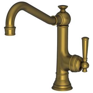 Antique Brass Single Handle Kitchen Faucet