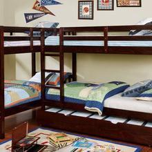 See Details - Marquette L-shaped Quadruple Twin Bunk Bed