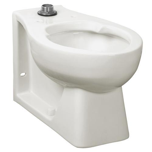 Huron EverClean Universal Flushometer Toilet - White