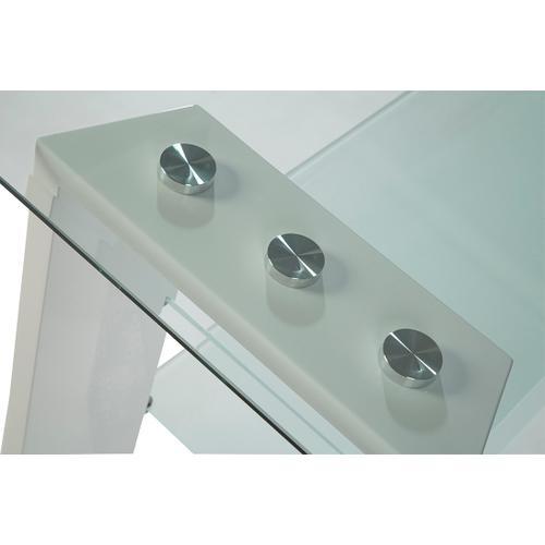 Jofran - Modena Sofa Table Complete- White