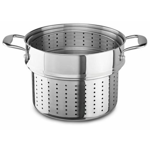 KitchenAid - PASTA & STEAMER INSERT - Stainless Steel