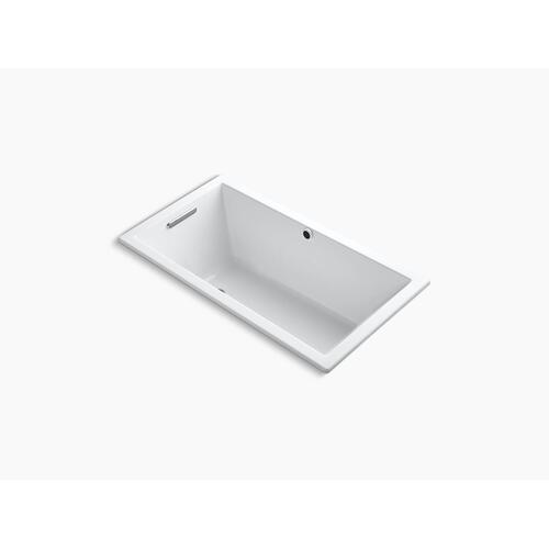 "White 60"" X 32"" Drop-in Bath With Bask Heated Surface"