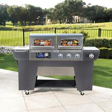 Twin Oaks Pellet & Gas Grill