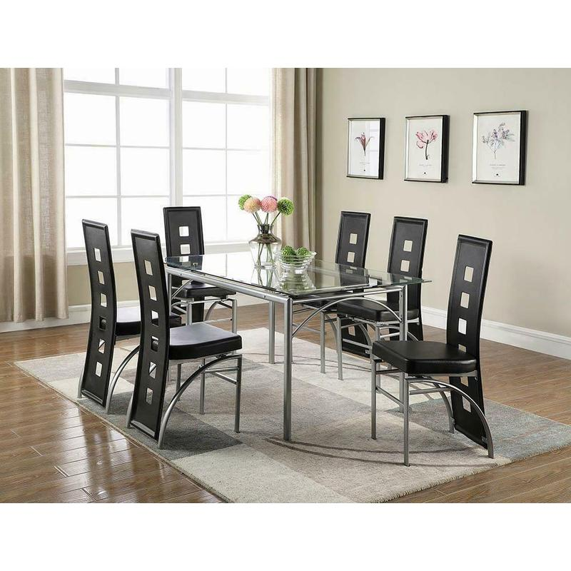 View Product - Los Feliz Contemporary Black Dining Chair