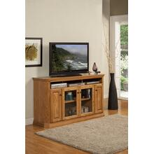 "O-TF301 Traditional Oak Fluted 65"" TV Console"