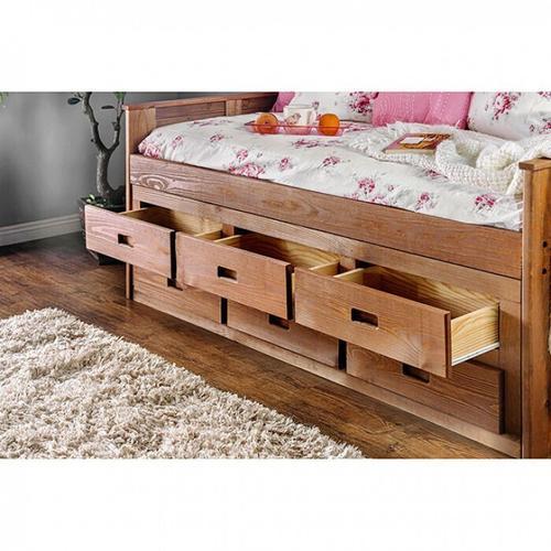 Furniture of America - Lia Twin Captain Bed