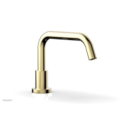 BASIC Deck Tub Spout D5132 - Polished Brass Uncoated