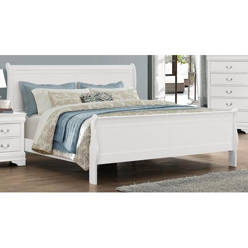 Bianco White LP Full Bed