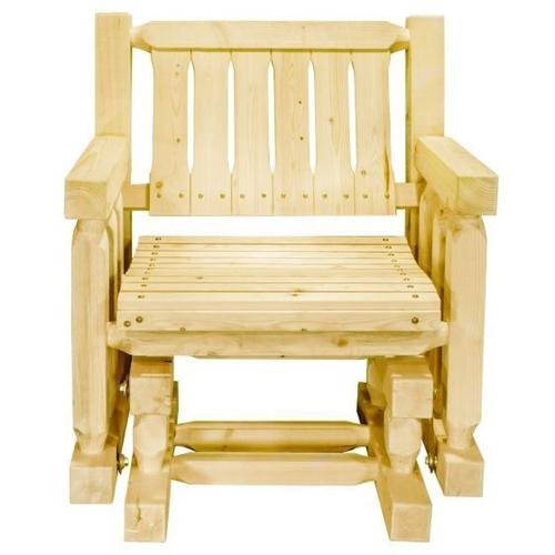 Montana Woodworks - Homestead Collection Single Seat Glider