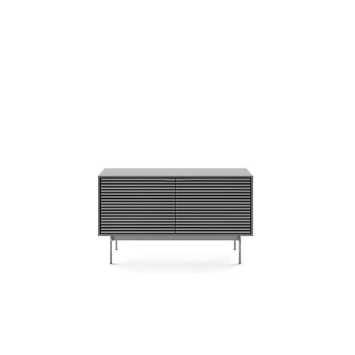 BDI Furniture - Align 7478 Media + Storage Console in Fog Grey Console Base