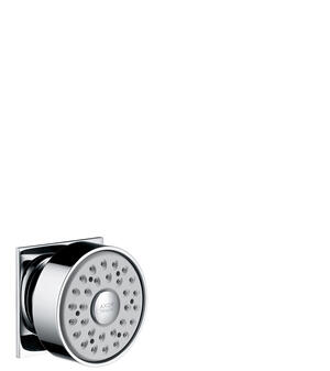 Chrome Body shower square 1jet Product Image