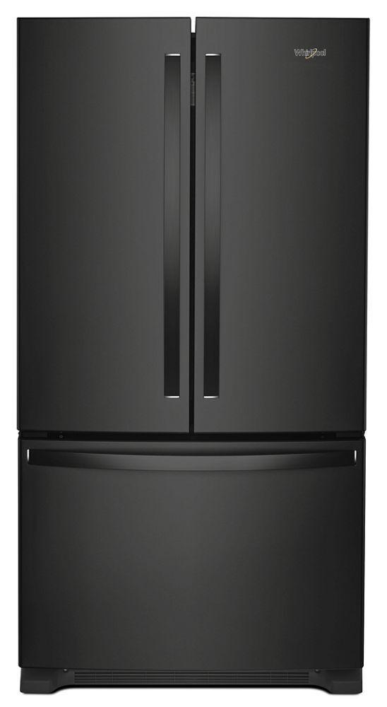 Whirlpool36-Inch Wide French Door Refrigerator With Water Dispenser - 25 Cu. Ft.
