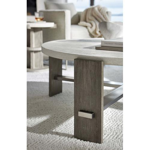 Bernhardt - Foundations Cocktail Table in Linen (306)