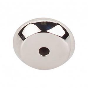 Aspen II Round Backplate 7/8 Inch - Polished Nickel