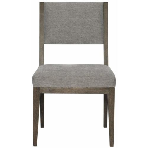 Linea Side Chair in Cerused Charcoal (384)