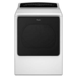 Whirlpool8.8 cu.ft Top Load HE Electric Dryer with Advanced Moisture Sensing, Intuitive Touch Controls White