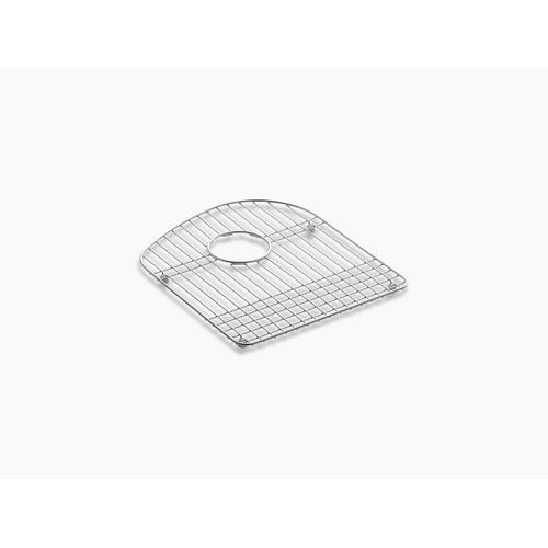 """Stainless Steel 13-3/4 X 15-3/4"""" Stainless Steel Sink Rack, for Right Bowl"""