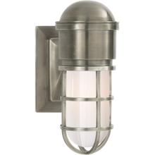 E. F. Chapman Marine 1 Light 5 inch Antique Nickel Bath Wall Light
