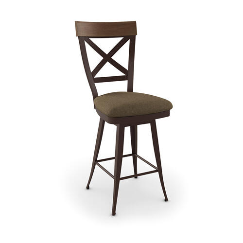 Kyle Swivel Stool (solid Wood)