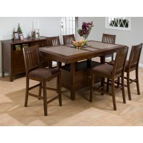 Caleb Counter Height Table Top W/butterfly Leaf