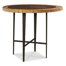 """Live Edge 36"""" Bistro Height Metal X-stretcher Base (base Only)"""