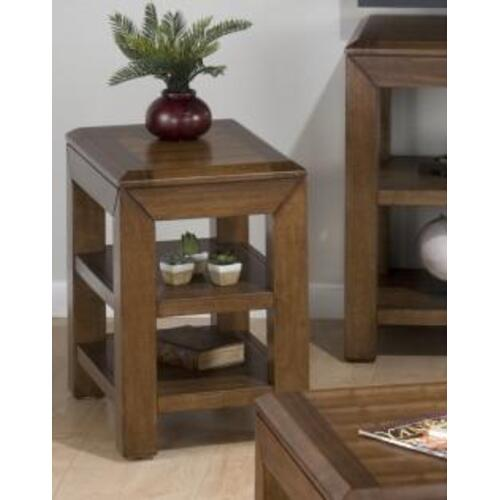 Jofran - Chairside Table W/ 2 Shelves