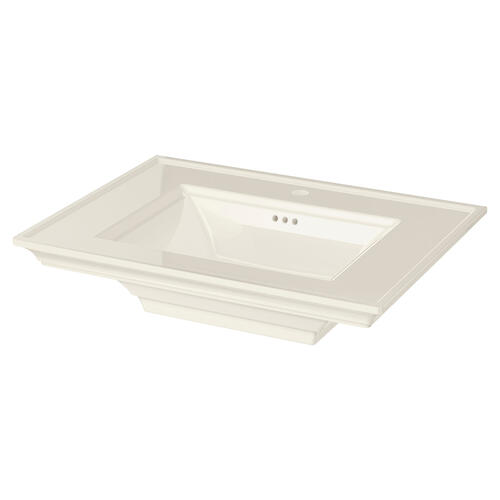 Town Square S Sink Top - Center Hole Only  American Standard - Linen