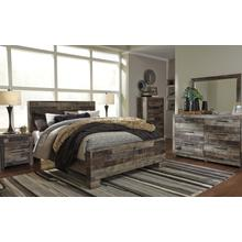 See Details - Derekson Queen Bedroom Set: Queen Bed, Nightstand, Dresser & Mirror