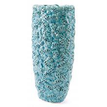See Details - Petals Lg Vase Teal